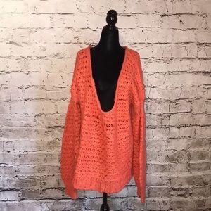 Flawed- Free people slouchy oversized sweater boho